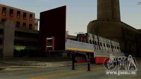Flatbed3 Red pour GTA San Andreas