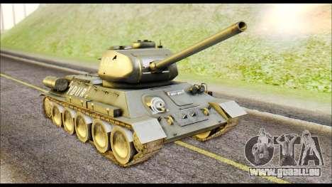 Real 102 Rudy Poland Tanks für GTA San Andreas linke Ansicht
