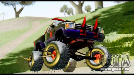 Predaceptor Monster Truck (Saints Row GOOH) für GTA San Andreas