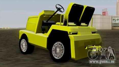 GTA 4 Airtug HQS pour GTA San Andreas laissé vue