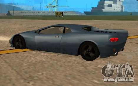 GTA 3 Infernus SA Style v2 pour GTA San Andreas vue arrière