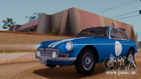 MGB GT (ADO23) 1965 HQLM für GTA San Andreas Unteransicht