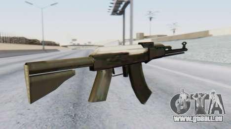 Arsenal AKM pour GTA San Andreas deuxième écran