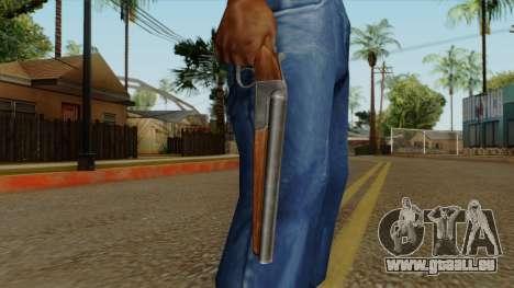 Original HD Sawnoff Shotgun pour GTA San Andreas troisième écran