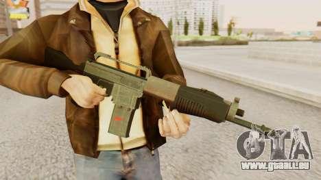 SPAS 15 pour GTA San Andreas troisième écran