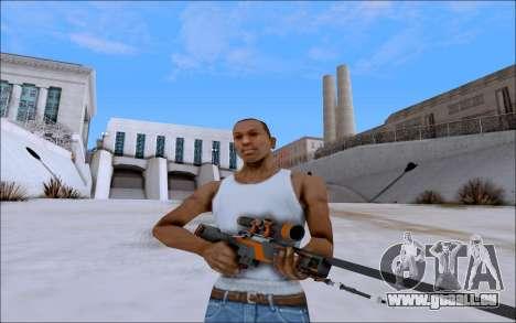 AWP Carbone Edition für GTA San Andreas
