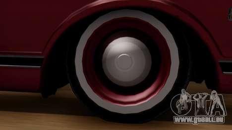 Chevrolet C10 Utility pour GTA San Andreas sur la vue arrière gauche