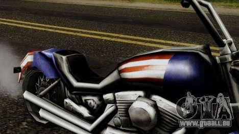 Freeway Angel pour GTA San Andreas vue de droite