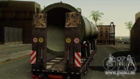 Trailer Cargos ETS2 New v3 pour GTA San Andreas vue de droite