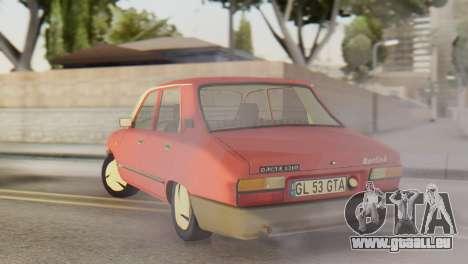 Dacia 1310 Berlina v2 pour GTA San Andreas sur la vue arrière gauche