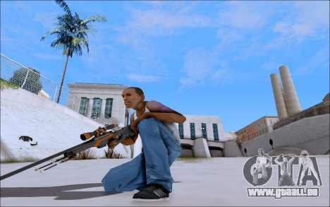 AWP Carbone Edition pour GTA San Andreas troisième écran