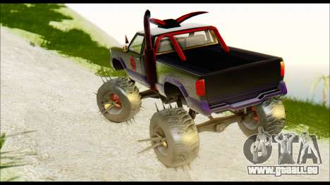 Predaceptor Monster Truck (Saints Row GOOH) für GTA San Andreas linke Ansicht