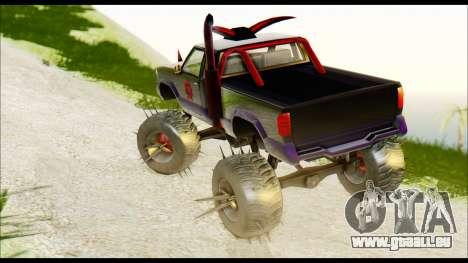 Predaceptor Monster Truck (Saints Row GOOH) für GTA San Andreas linke Ansicht