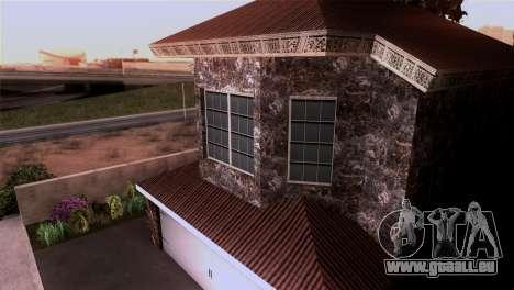 Le manoir dans le style de Scarface pour GTA San Andreas quatrième écran