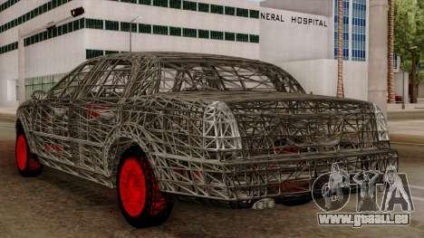Kerdi Design Washington Roll Cage pour GTA San Andreas vue arrière