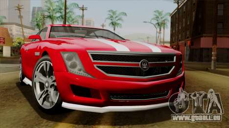 GTA 5 Albany Alpha v2 pour GTA San Andreas