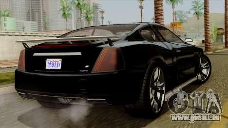 GTA 5 Albany Alpha v2 IVF pour GTA San Andreas laissé vue