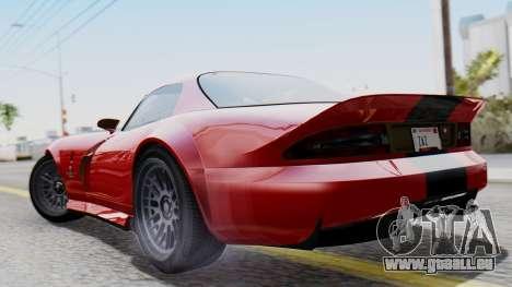 GTA 5 Banshee Dirt für GTA San Andreas linke Ansicht