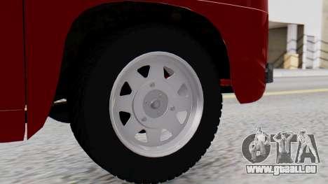 Dacia 1100 Sport pour GTA San Andreas sur la vue arrière gauche
