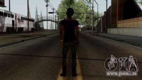 Rochelle New Textures pour GTA San Andreas troisième écran