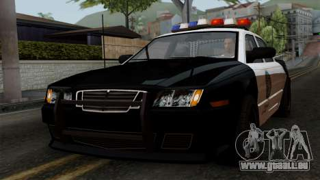 GTA 5 LS Police Car für GTA San Andreas