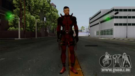 Deadpool without Mask für GTA San Andreas zweiten Screenshot