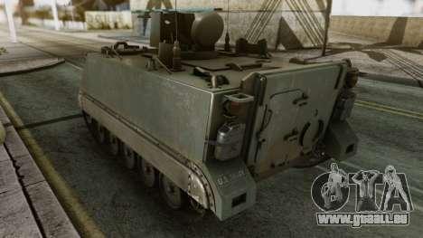 PGZ-95 Radar (Type 95) pour GTA San Andreas sur la vue arrière gauche