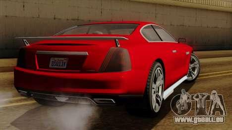 GTA 5 Albany Alpha v2 pour GTA San Andreas laissé vue