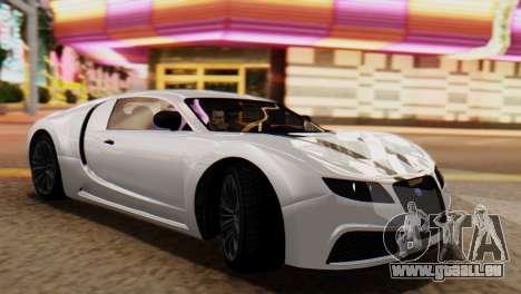 GTA 5 Adder Tire Dirt für GTA San Andreas zurück linke Ansicht
