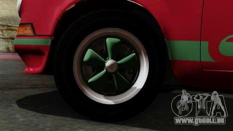 Porsche 911 Carrera RS 2.7 Sport (911) 1972 IVF für GTA San Andreas zurück linke Ansicht