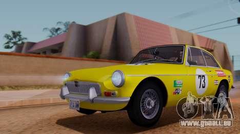 MGB GT (ADO23) 1965 HQLM für GTA San Andreas Innen