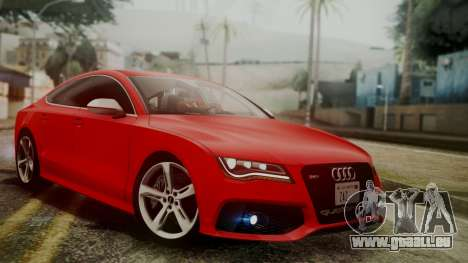 Audi RS7 2014 für GTA San Andreas