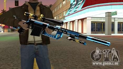 Fulmicotone Sniper Rifle pour GTA San Andreas troisième écran