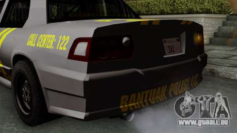 Indonesian Police Type 1 pour GTA San Andreas salon