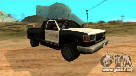 New Yosemite Police v2 pour GTA San Andreas laissé vue