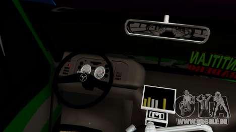 Mercedes-Benz Boxer pour GTA San Andreas vue de droite
