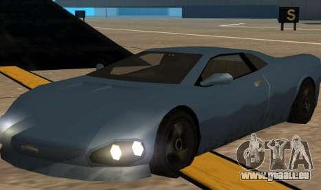 GTA 3 Infernus SA Style v2 pour GTA San Andreas laissé vue