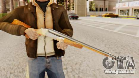 Vollversion Doppel-Schrotflinten für GTA San Andreas dritten Screenshot