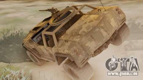 SOC-T from CoD Black Ops 2 pour GTA San Andreas laissé vue