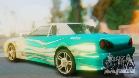 Elegy New Paintjob pour GTA San Andreas laissé vue