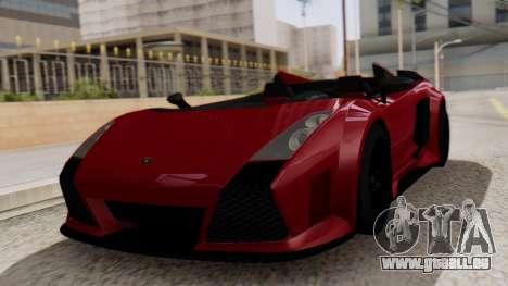 Lamborghini Gallardo J Style für GTA San Andreas