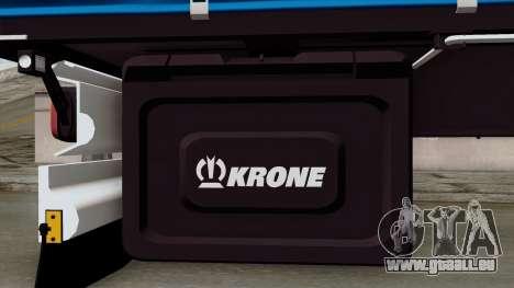 Trailer Krone Profiliner v1 für GTA San Andreas rechten Ansicht