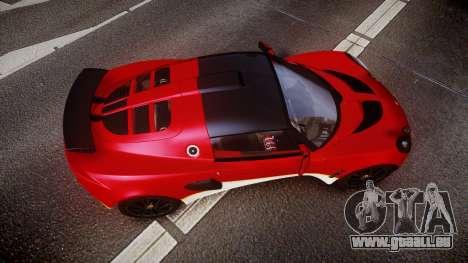 Lotus Exige 240 CUP 2006 Type 49 pour GTA 4 est un droit
