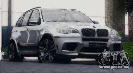 BMW X5M MPerformance Packet pour GTA San Andreas vue de droite