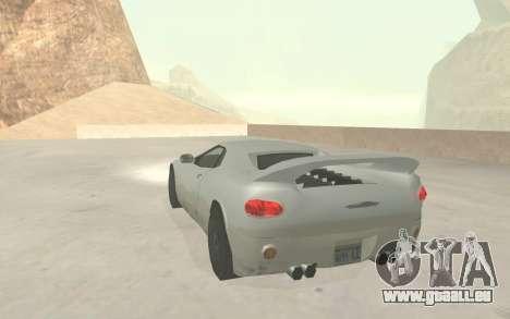 GTA 3 Infernus SA Style v2 pour GTA San Andreas vue de côté