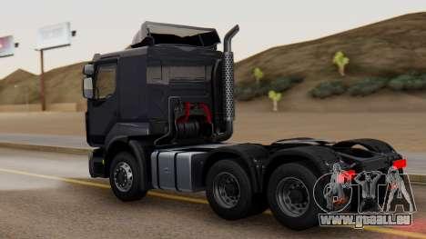 Renault Premuim 6x4 pour GTA San Andreas laissé vue