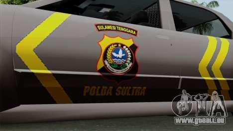 Indonesian Police Type 1 für GTA San Andreas rechten Ansicht