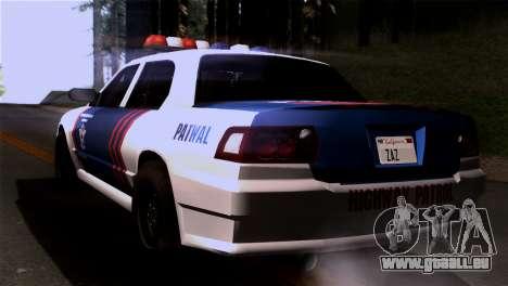 Indonesian Police Type 2 für GTA San Andreas linke Ansicht