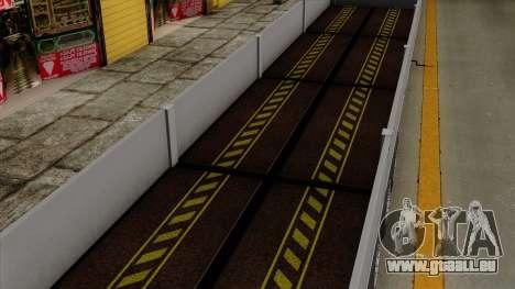 Trailer Kogel pour GTA San Andreas vue intérieure
