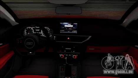 Audi RS7 2014 pour GTA San Andreas vue de côté